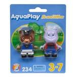 Aquaplay Bo & Wilma Spielfiguren Figuren Bootsfiguren Wasserbahn Zubehör 2-tlg.