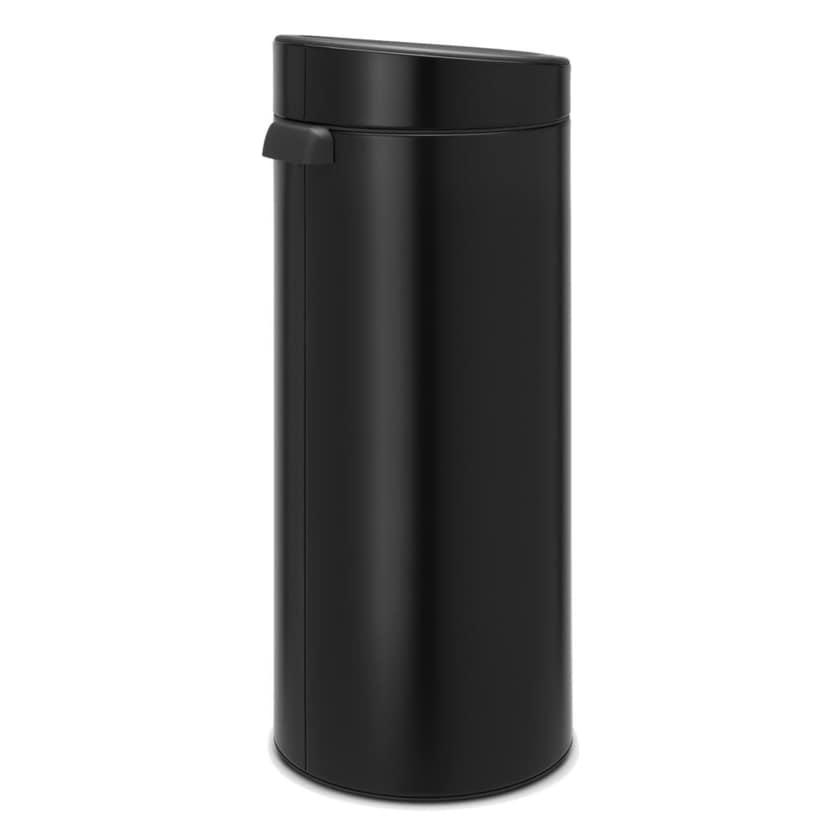 Brabantia Touch Bin New Mülleimer Matt Black 30 L