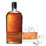 Bulleit Bourbon Frontier Whisky mit graviertem Glas 45% 700 ml