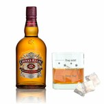Chivas Regal 12 Jahre Blended Scotch Whisky mit Mood Whiskyglas 40% 700 ml