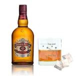 Chivas Regal 12 Jahre Blended Scotch Whisky mit Mood Whiskyglas 40% 700 ml
