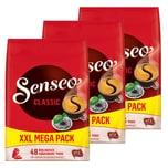 Senseo Kaffeepads Classic, 3 x 48 Pads