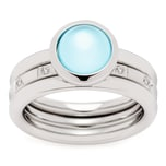 Leonardo Jewels Ring Momento 2er Set Größe 17