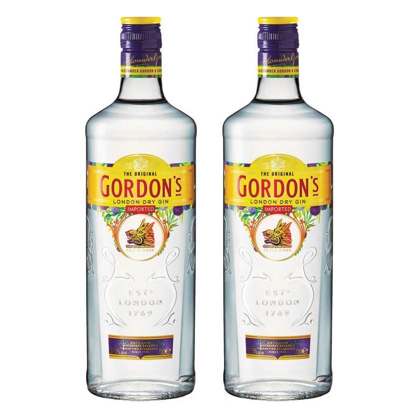 Gordons London Dry Gin 37.5% 2x700 ml
