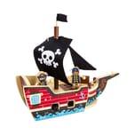 Legler small foot Holzbausatz Piratenschiff