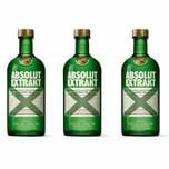 Absolut Vodka Extrakt 35% 3x700 ml