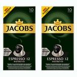 Jacobs Espresso 12 Ristretto 2 x 10 Kapseln