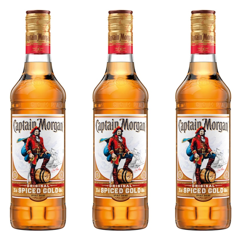 Captain Morgan Original Spiced Gold 35% 3x500 ml