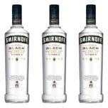 Smirnoff Black No. 55 Vodka 40% 3x700 ml