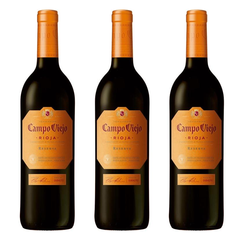 Campo Viejo Reserva 13.5% 3x750 ml