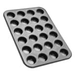 Zenker Muffinform für 24 Muffins Black Metallic