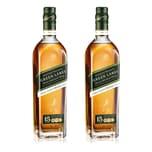 Johnnie Walker Green Label 15 Y 43% 2x700 ml