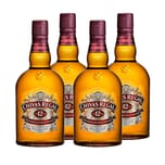 Chivas Regal 12 Jahre Blended Scotch Whisky 40% 4x1 L