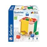 Selecta Spielzeug Quatrino Sortierbox