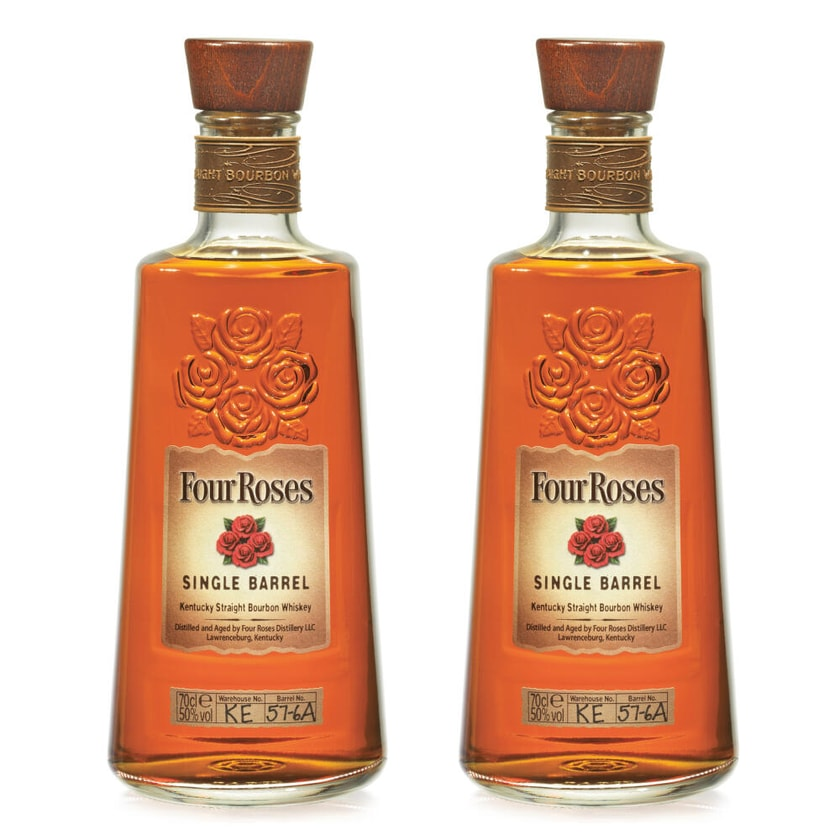 Four Roses Single Barrel Kentucky Straight Bourbon 50% 2x700 ml