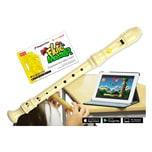 Voggenreiter Flute Master App mit Blockflöte Deutsche Griffweise Kunststoff