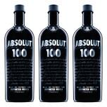 Absolut Vodka 100 50% 3x1 L