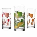 montana: :dice Trinkglas 3er Set 280 ml