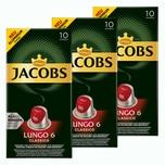Jacobs Lungo 6 Classico 3 x 10 Kapseln