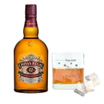Chivas Regal 12 Jahre Blended Scotch Whisky mit Mood Whiskyglas 40% 1 L
