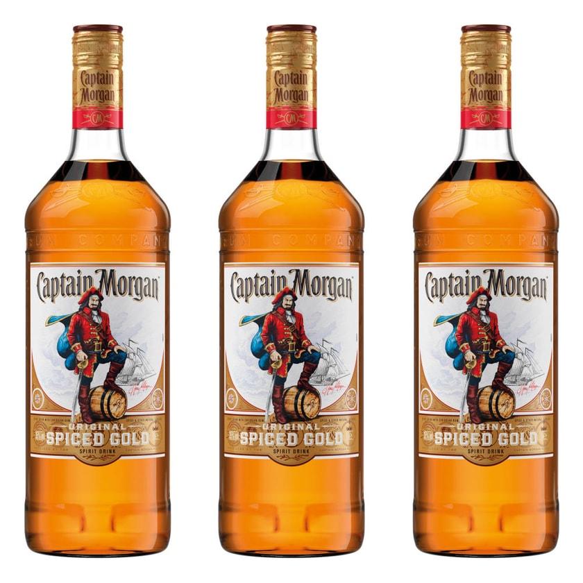 Captain Morgan Original Spiced Gold 35% 3x1 L
