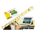 Voggenreiter Flute Master App mit Blockflöte Barocke Griffweise Kunststoff