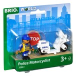 BRIO Motorrad-Polizist