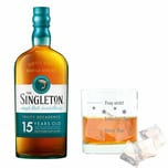 Singleton Of Dufftown 15 Y Malt mit graviertem Glas 40% 700 ml