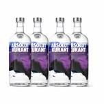 Absolut Vodka Kurant 40% 4x1 L