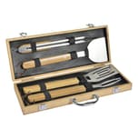 Mastrad BBQ Set Grillbesteck 4-teilig mit Koffer