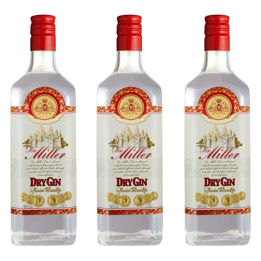 Caffo Sir Miller Dry Gin 40% 3x1 L