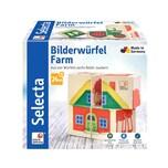 Selecta Spielzeug Bilderwürfel Farm