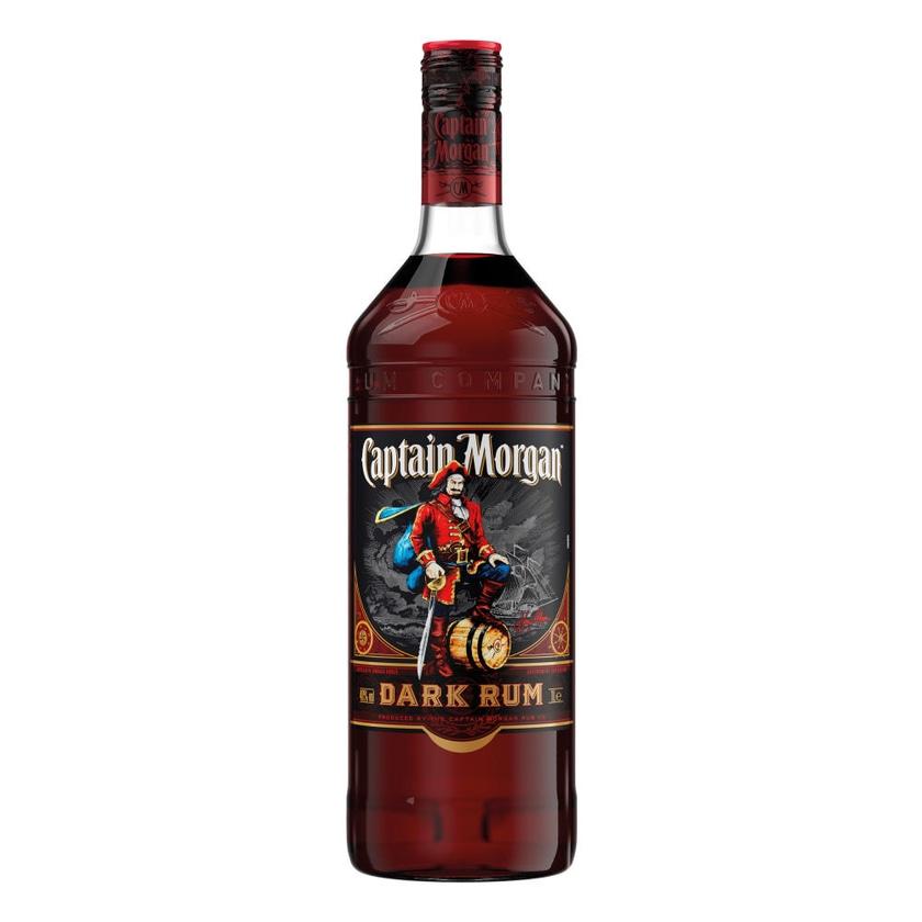 Captain Morgan Dark Rum 40% 12x1 L