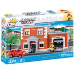 Cobi Bausteinset Action Town Engine 13 Fire Station 1477