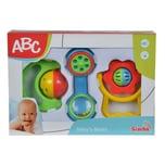 Simba ABC Baby Rassel Set 3-tlg.
