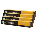 Starbucks Blonde Kaffee Espresso Roast 4 x 10 Kapseln