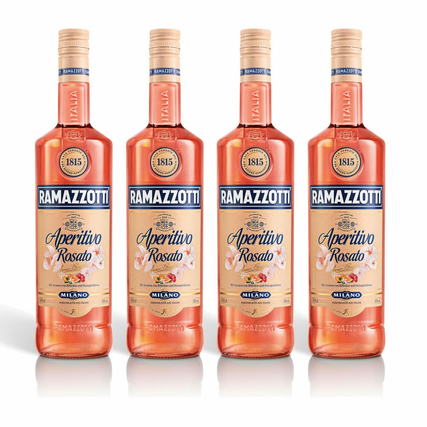 Ramazzotti Aperitivo Rosato 15% 4x1 L