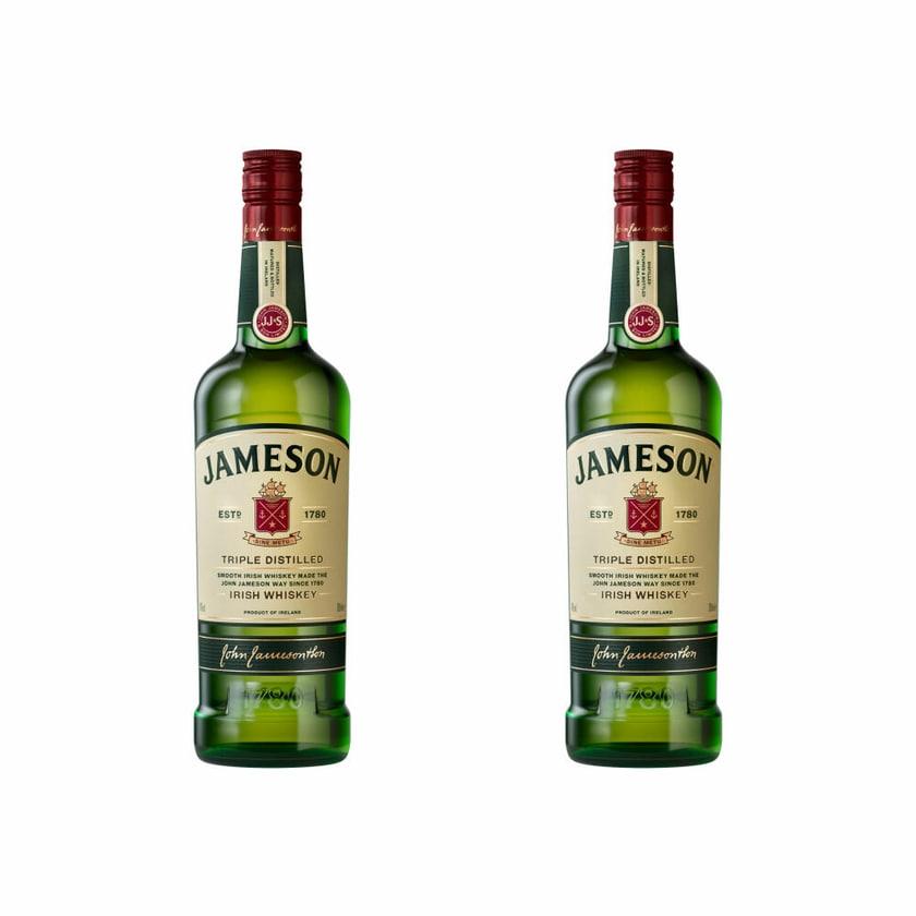Jameson Original Blended Irish Whiskey 40% 2x700 ml