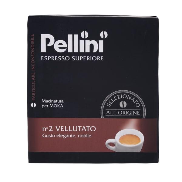 Pellini No.2 Vellutato 2x250g Espresso gemahlen 500g