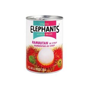 Twin Elephant Rambutan in Syrup 230g