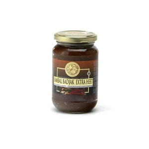 Koningsvogel Extra Scharfe Chilipaste Sambal Badjak Extra Heet 375 g