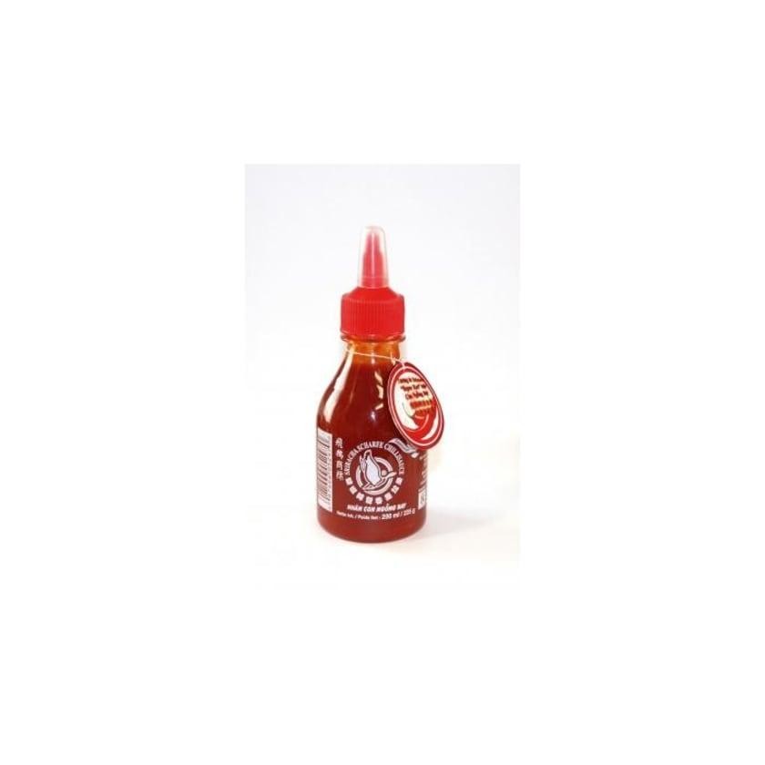 Flying Goose Sriracha superscharfe Chilisauce roter Deckel 200 ml