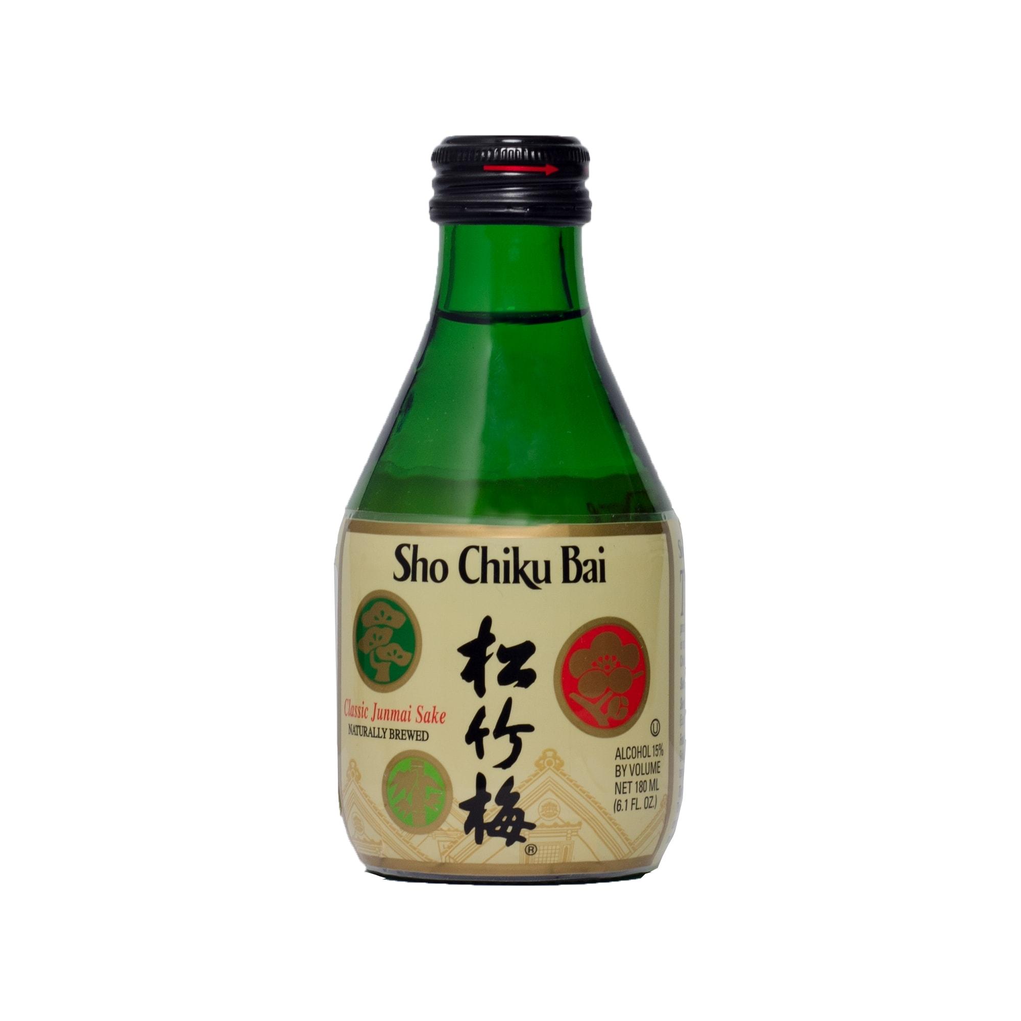 Takara Sho Chiku Bai Sake Reiswein 15% Alkohol 180 ml