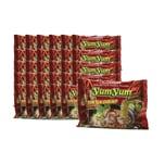 YumYum Instant Nudeln mit Tom Yum Shrimp Garnelen Geschmack 30er Karton 30 x 60g