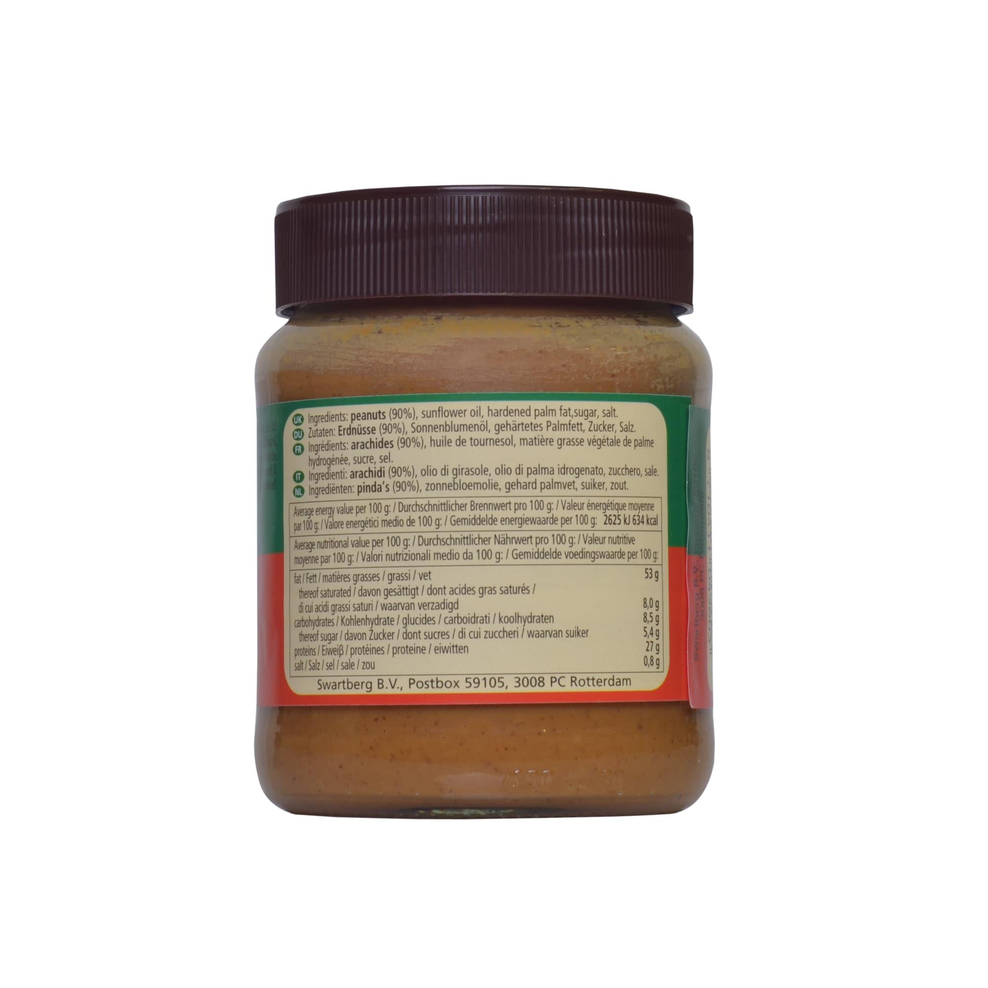 PCD Pinda Kaas Erdnussbutter / Erdnusspaste 350 g