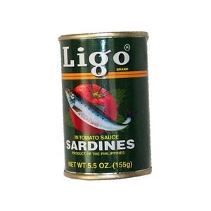 Ligo Sardinen in Tomatensauce Ligo grün mild 155 g