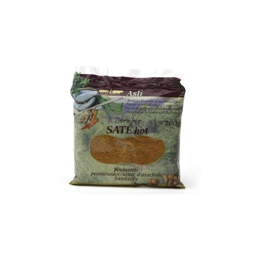 Asli Sate hot Boemboe Erdnusssaucenmix scharf 200 g