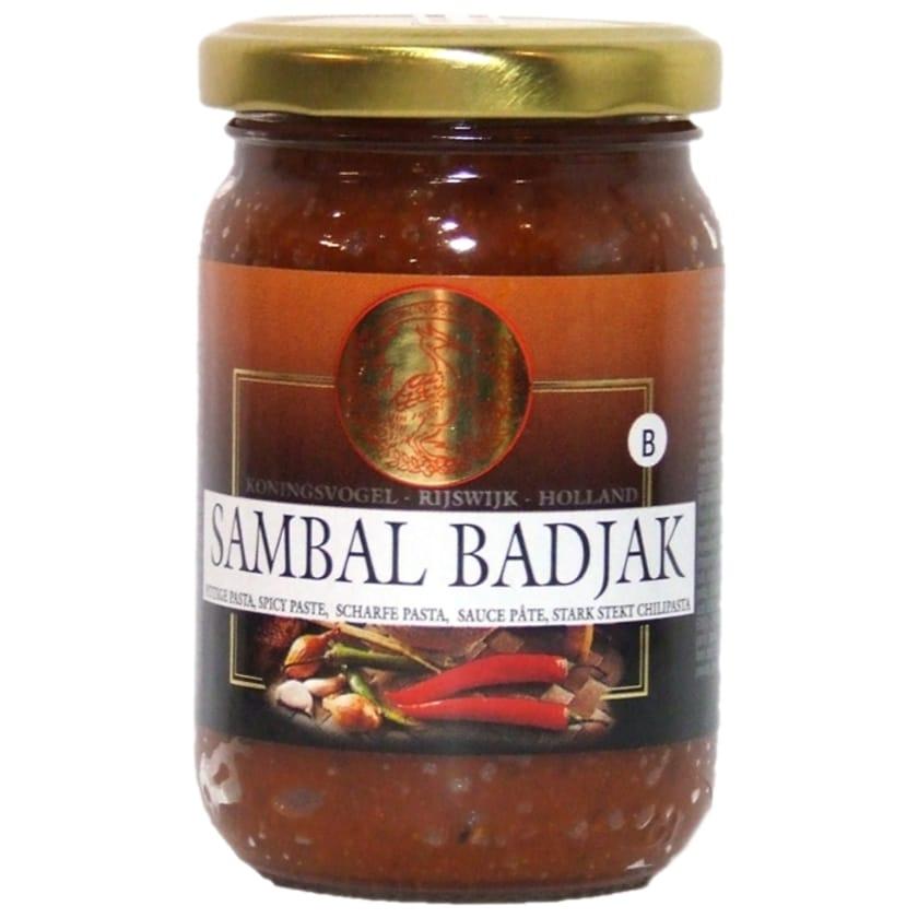 Koningsvogel Sambal Badjak scharfe Chilipaste 200 g