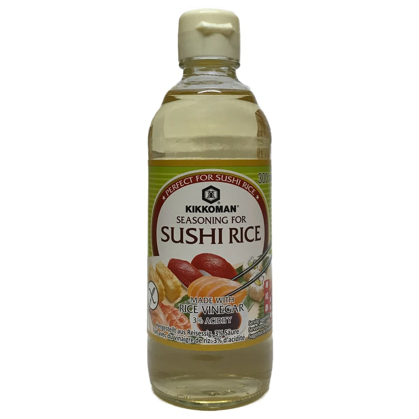 Kikkoman Reisessigwürze für Sushireis Sushi Essig 300 ml