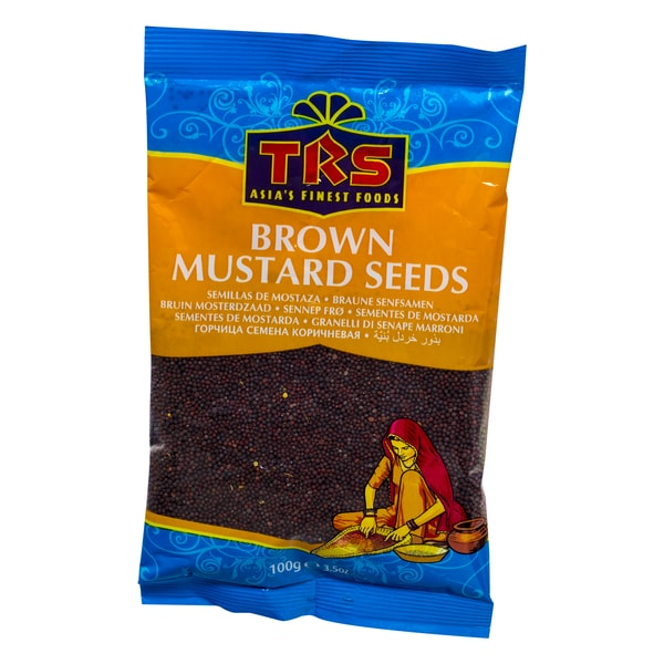 TRS Brown Mustard Seeds Braune Senfsamen 100g
